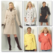 McCall's Pattern Misses' and Women's Lined Jackets, Coats and Belt, RR