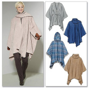 McCall's Pattern Misses' Ponchos and Belt, ZZ