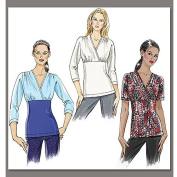 Vogue Pattern Misses' Top, BB