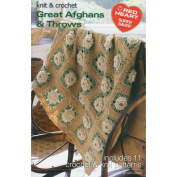 Coats - Crochet& Floss 376899 Coats& Clark Books-Great Afghans& Throws -Super Saver