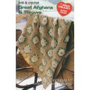 Coats - Crochet& Floss 376899 Coats& Clark Books-Great Afghans& Throws -Super Saver