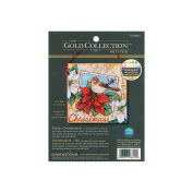 """Dimensions Gold Collection """"Faith"""" Ornament Counted Cross Stitch Kit, 11cm x 11cm"""