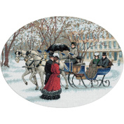 Gold Collection Winter Impressions Counted Cross Stitch Kit-41cm x 30cm