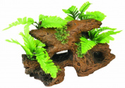 RC Hagen 12258 Marina Naturals Malaysian Driftwood with Plants Large