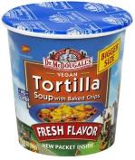 Dr Mcdougalls 39607 Tortilla Big Soup Cup