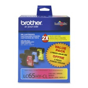 for Brother International Corp. BRTLC65HYC Ink Cartridge- 750 Page Yield- Cyan