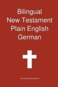 Bilingual New Testament, Plain English - German