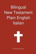 Bilingual New Testament, Plain English - Italian