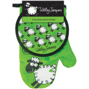 Dublin Gift Wooley Jumper Oven Glove and Pot Holder