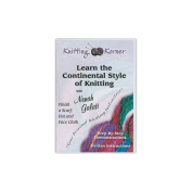 Knitting Korner Learn The Continental Style Of Knitting DVD