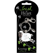 Dublin Gift Sheep Irish At Heart Key Ring