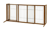 Richell Freestanding Deluxe Pet Gate with Door - Medium
