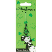 Dublin Gift Wooley Jumper Metal Phone Charm