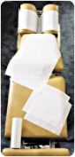 Graham Professional Medical Products GMD101 Headrest Paper 22cm x 38m 25 Rolls per Case