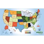 Littleton America The Beautiful Commemorative Quarter Map 2010 - 2021