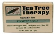 Tea Tree Therapy 83205 Tea Tree Eucalyptus Soap