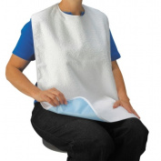 Drive Medical Lifestyle Terry Towel Bib - Large