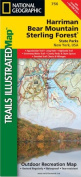 National Geographic Maps TI00000756 Harriman Bear Mountain Sterling Forest State Parks Map