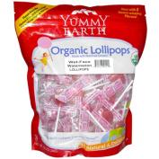 Yummy Earth 0985267 Organic Lollipops Wet-Face Watermelon - 360ml