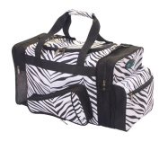 Pizzazz Performance Wear B500AP -ZEB -L B500AP Zebra Megaphone Duffle Bag - Zebra - Large