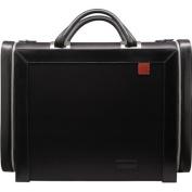 Aaron Irvin Design AA-MLC-BK Microfiber Large Computer Bag - Black