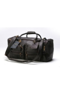 Claire Chase 303E-cafe Executive Sport Duffel - XL - Cafe