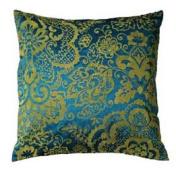 LR Resources LR07146-LILP1818 Pillow Linden Lapis 18 in. Rug