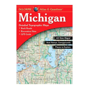 Delorme 240022 Michigan Atlas and Gazetteer