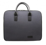Aaron Irvin Design AA-CDZB-NV Canvas Double Zip Bag - Navy