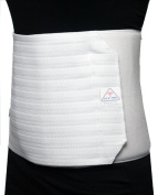 ITA-MED Breathable Elastic Abdominal Support Binder for Women (12 Wide) - Small