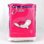 Julie Julie Brand Super Maxi Pad with Wings