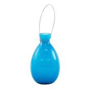 Achla Designs Tear Rooting Vase, Teal