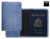 Raika RO 115 BLK Passport Cover - Black