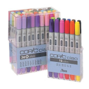 Copic Ciao Markers 36pc Set-Set A