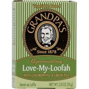 Grandpas 0253393 Love-My-Loofah with Chlorophyll and Green Tea - 3.25 fl oz