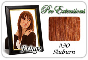 Brybelly Holdings PRFR-30 No. 30 Auburn Pro Fringe Clip In Bangs