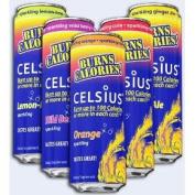 Celsius - Celsius Original Calorie Burner Sparkling Wild Berry - 4 Pack(s)