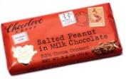 Chocolove Milk Chocolate Bar Salted Peanut 90ml