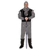 Aeromax KNT-Adult -LRG Adult Knight with Hood - Size Adult Large