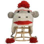 Nirvanna Designs CH Smnky-grey K S Monkey Grey Hat - Kids