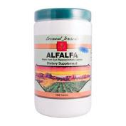 Bernard Jensen 0717561 Alfalfa Leaf Tablets 550 mg 1000 tablets - 1000 Tablets