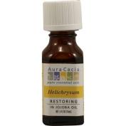 Aura Cacia 1119023 Helichrysym in Jojoba Oil - 0.5 fl oz