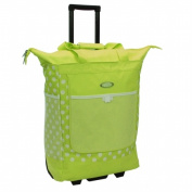 Luggage America RS-100 Polka Dot Shopper Tote - Lime