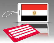 Insight Design 770545 TagCrazy Luggage Tags- Egypt Flag- Set of Three