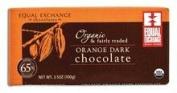 Equal Exchange B20041 Equal Exchange Organic Orange Dark Chocolate 65% Cacao -12x3.5 Oz