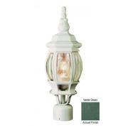 Trans Globe Lighting 4060 VG 1 Light Post Lantern - VERDE GREEN