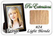 Brybelly Holdings PRFR-24 No. 24 Light Blonde Pro Fringe Clip In Bangs