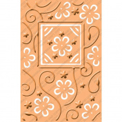 Provo Craft Cuttlebug Embossing Plus Folder, Perfect Perennials, 10cm x 15cm