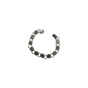 Fuseworks Jewellery Findings-Gunmetal Link Bracelet 18cm - 0.5cm