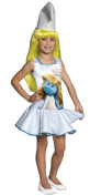 Rubies Costumes The Smurfs - Smurf Dress Child Costume Medium - 8-10